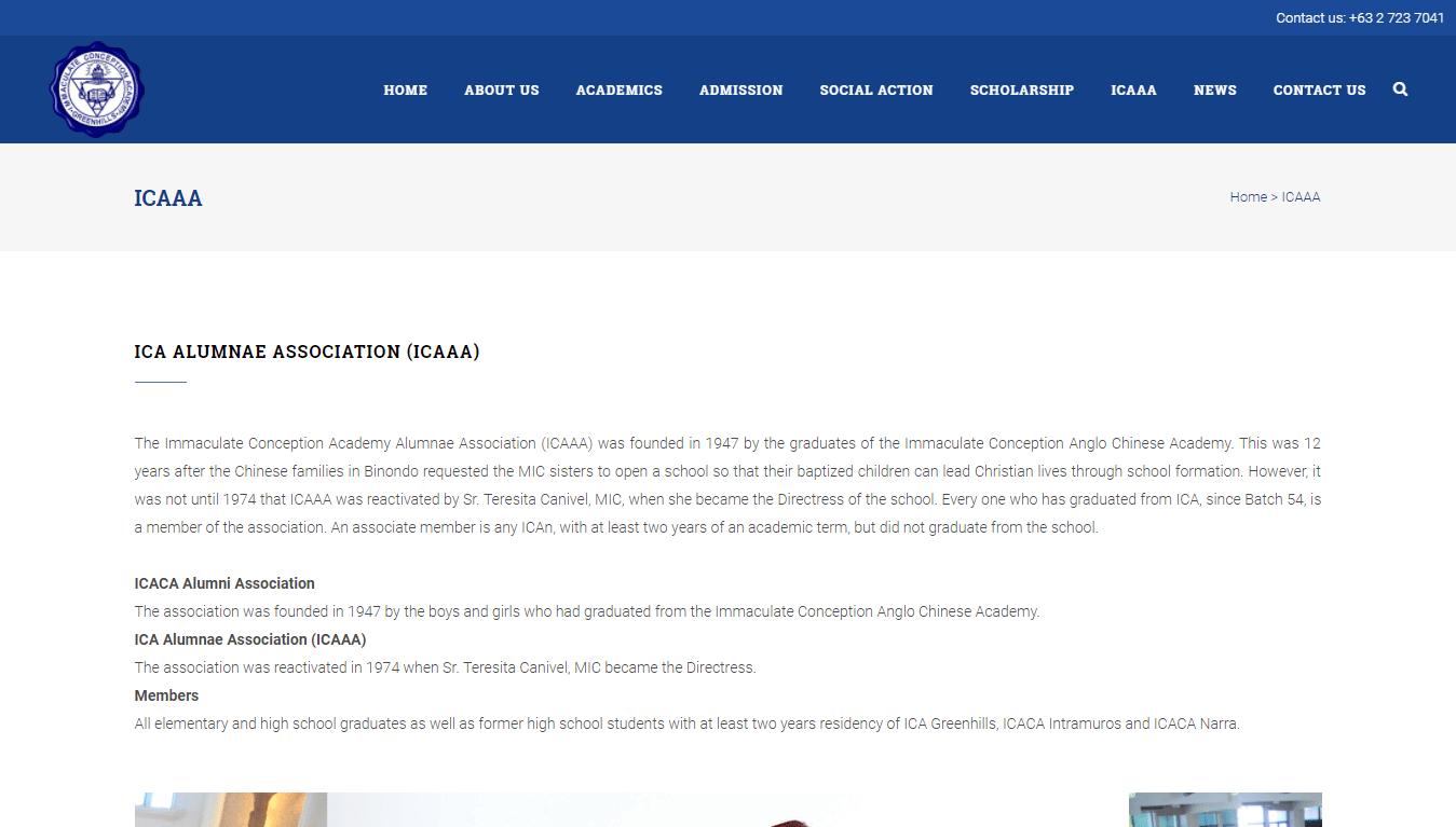 ICAAA page