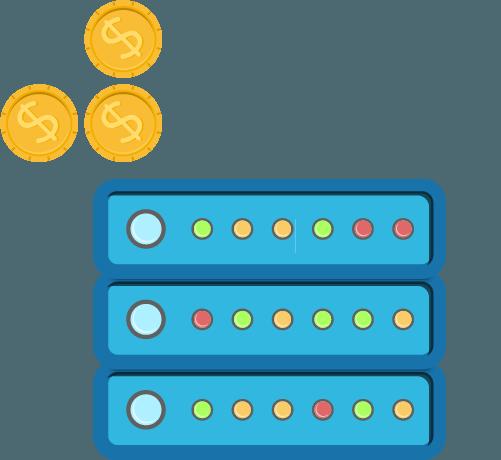 Shared Server - Split Cost