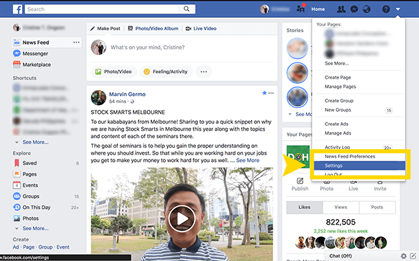 How to Download you Facebook Data