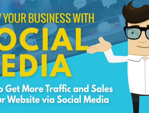 How to Increase your website traffic and sales using social media