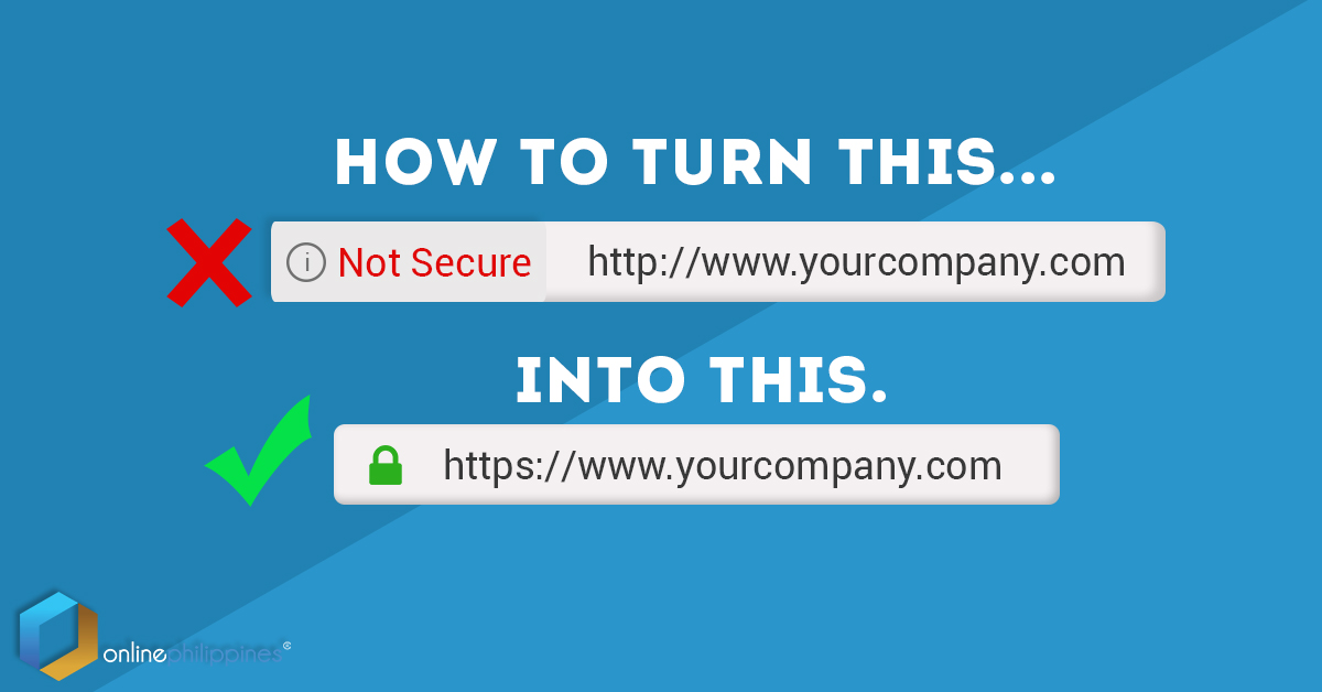 remove not secure on chrome ssl